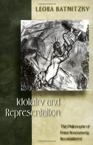 9780691048505: Idolatry and Representation: The Philosophy of Franz Rosenzweig Reconsidered