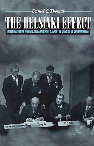 9780691048598: The Helsinki Effect – International Norms, Human Rights, and the Demise of Communism