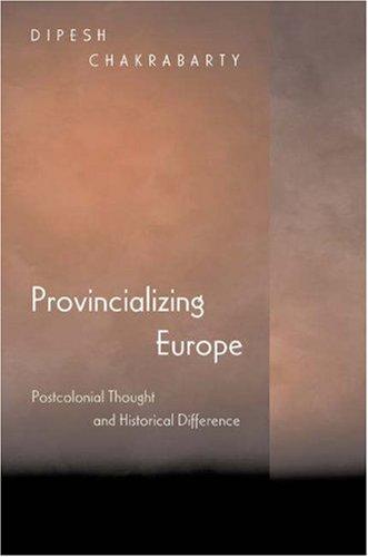 9780691049083: Provincializing Europe