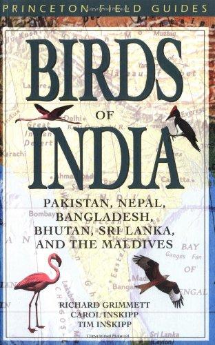 9780691049106: Birds of India, Pakistan, Nepal, Bangladesh, Bhutan, Sri Lanka and the Maldives