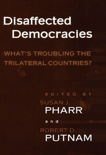 9780691049243: Disaffected Democracies: What's Troubling the Trilateral Countries?