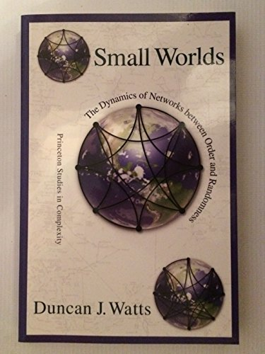9780691050133: Small Worlds The Dynamics of Networks Between Order and Randomness
