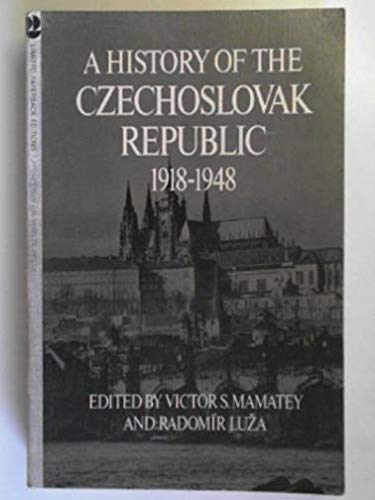 9780691052052: A History of the Czechoslovak Republic, 1918-1948
