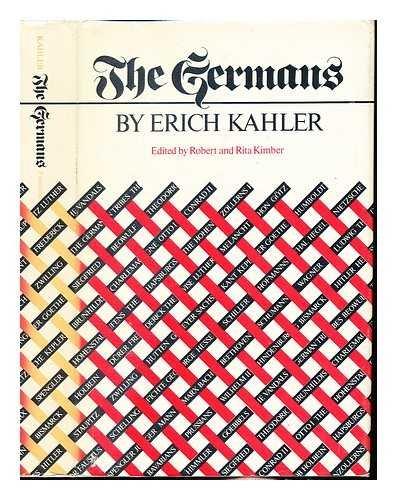 The Germans: Erich Kahler