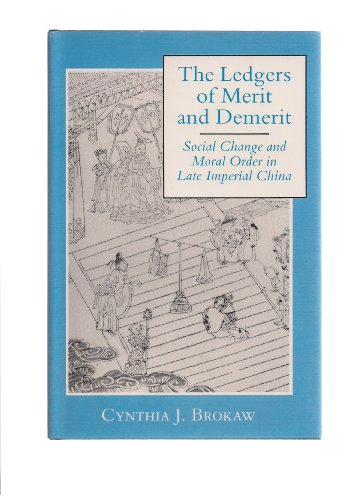 9780691055435: The Ledgers of Merit and Demerit: Social Change and Moral Order in Late Imperial China