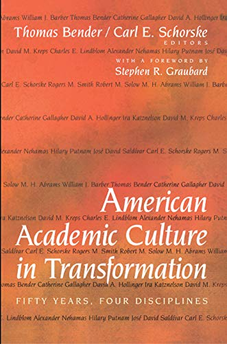 9780691058245: American Academic Culture in Transformation