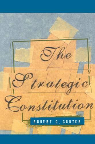 9780691058641: The Strategic Constitution