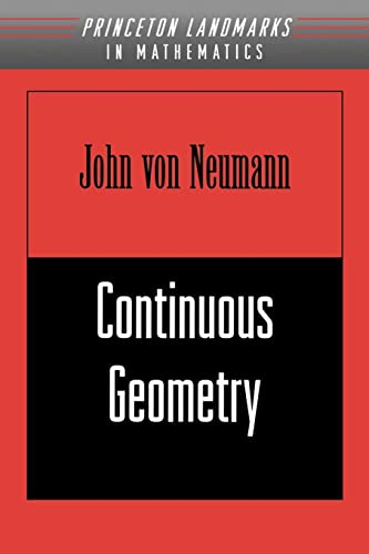 9780691058931: Continuous Geometry