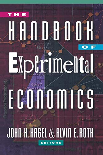 9780691058979: The Handbook of Experimental Economics