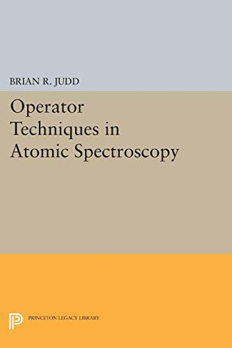 9780691059013: Operator Techniques in Atomic Spectroscopy