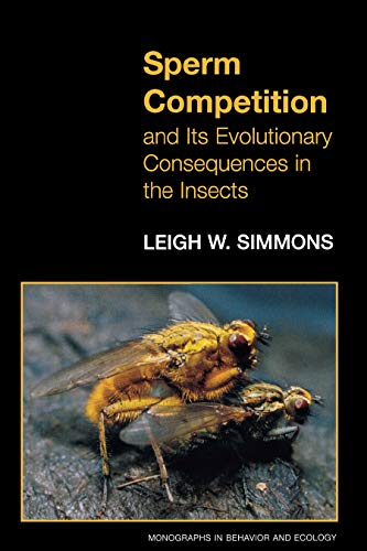 9780691059877: Sperm Competition and Its Evolutionary Consequences in the Insects.