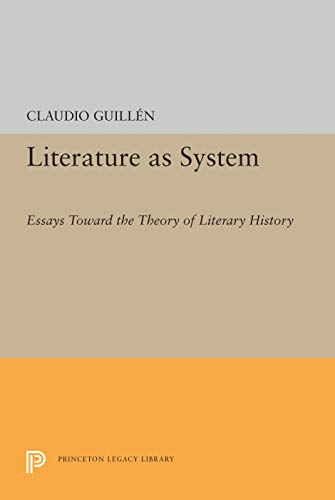 9780691060743: Literature as System: Essays Toward the Theory of Literary History