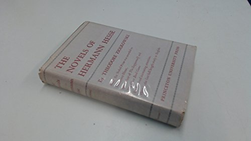 9780691060842: The Novels of Hermann Hesse: A Study in Theme and Structure