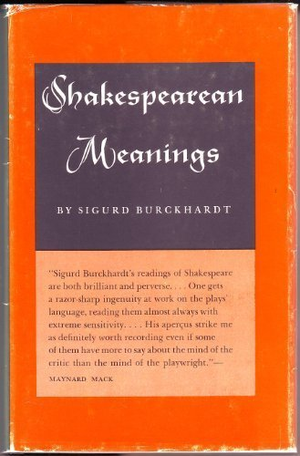 Shakespearean Meanings