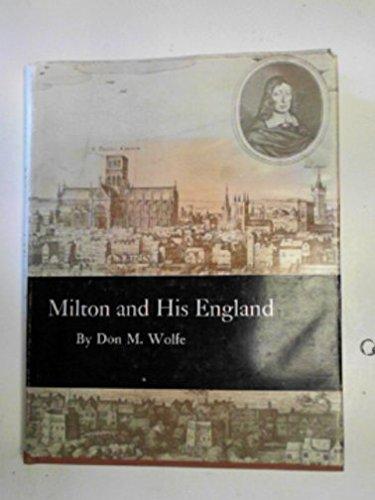 9780691062006: Milton and His England (Princeton Legacy Library)