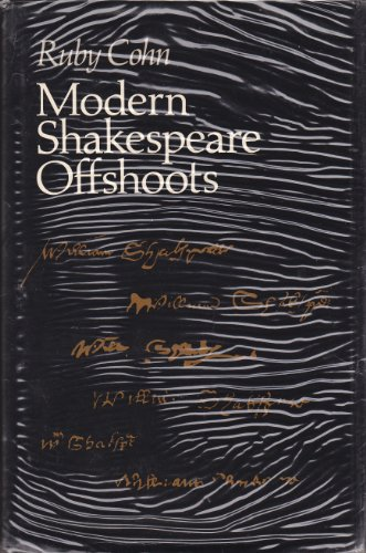 9780691062891: Modern Shakespeare Offshoots (Princeton Legacy Library)