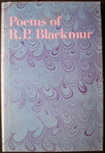 Poems of R.P. Blackmur (Princeton Legacy Library): Blackmur, Richard Palmer