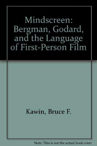 9780691063652: Mindscreen: Bergman, Godard, and the Language of First-Person Film