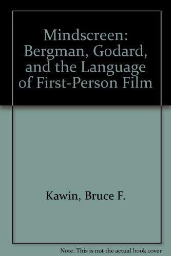 9780691063652: Mindscreen: Bergman, Godard, and First-Person Film