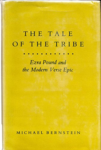 9780691064345: Tale of the Tribe: Ezra Pound and the Modern Verse Epic