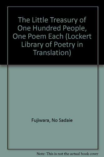 9780691065144: The Little Treasury of One Hundred People, One Poem Each