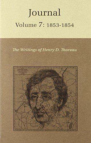 9780691065403: The Writings of Henry David Thoreau: Journal, Volume 7: 1853-1854 (Writings of Henry D. Thoreau)