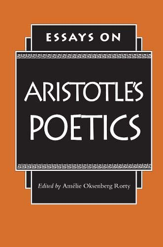 9780691068725: Essays on Aristotle's Poetics (Princeton Paperbacks)