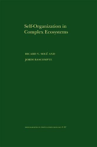 9780691070391: Self-Organization in Complex Ecosystems. (MPB-42) (Monographs in Population Biology)