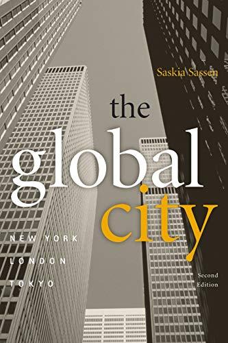 9780691070636: The Global City: New York, London, Tokyo (Princeton Paperbacks)