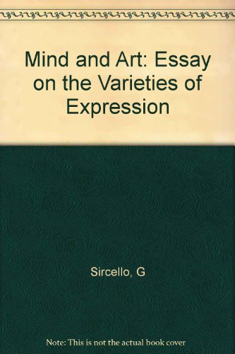 9780691071848: Mind and Art: An Essay on the Varieties of Expression (Princeton Legacy Library)
