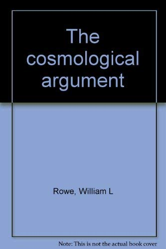 9780691072104: The Cosmological Argument