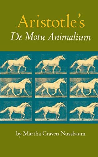 """9780691072241: Aristotle's """"De Motu Animalium"""""""