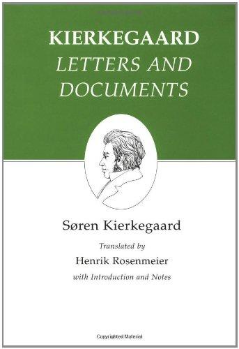 9780691072289: Kierkegaard's Writings, XXV: Letters and Documents: Letters and Documents v. 25