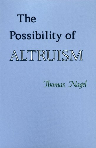 9780691072319: The Possibility of Altruism