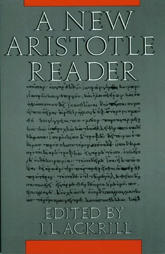 9780691073170: A New Aristotle Reader