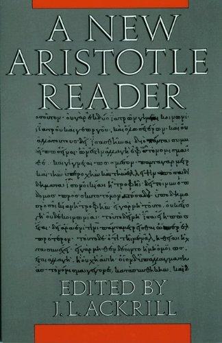 9780691073170: A New Aristotle Reader