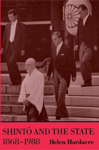 9780691073484: Shinto and the State, 1868-1988 (Studies in Church and State)