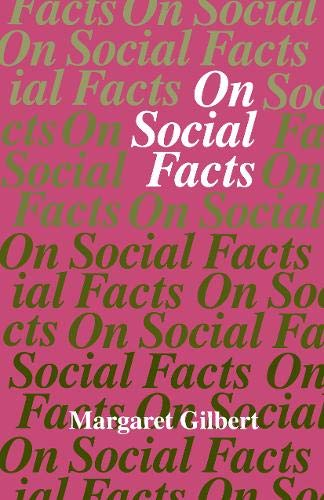 9780691074016: On Social Facts