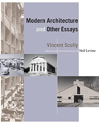9780691074429: Modern Architecture and Other Essays