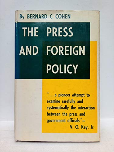 9780691075198: Press and Foreign Policy (Princeton Legacy Library)