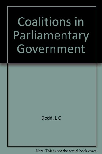 9780691075648: Coalitions in Parliamentary Government