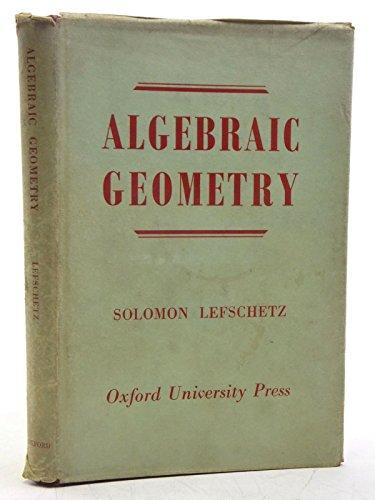 9780691079066: Algebraic Geometry (Princeton Legacy Library)