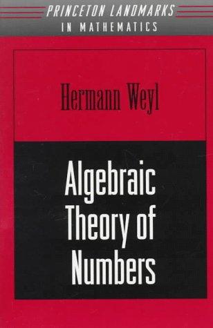 9780691079080: Algebraic Theory of Numbers. (AM-1) (Annals of Mathematics Studies)