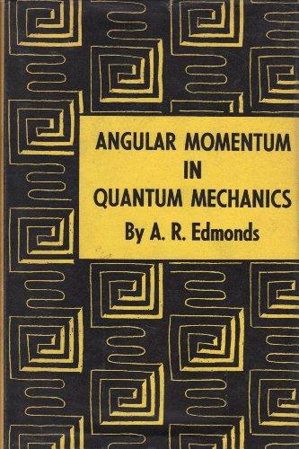 9780691079127: Angular Momentum in Quantum Mechanics