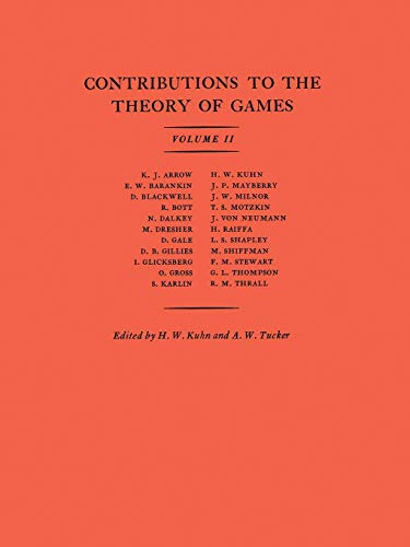 9780691079356: Contributions to the Theory of Games (AM-28), Volume II (Annals of Mathematics Studies)