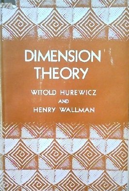 9780691079479: Dimension Theory (PMS-4) (Princeton Mathematical Series)