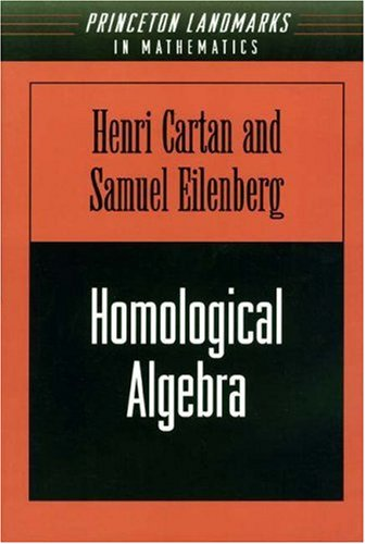 9780691079776: Homological Algebra (PMS-19) (Princeton Mathematical Series)