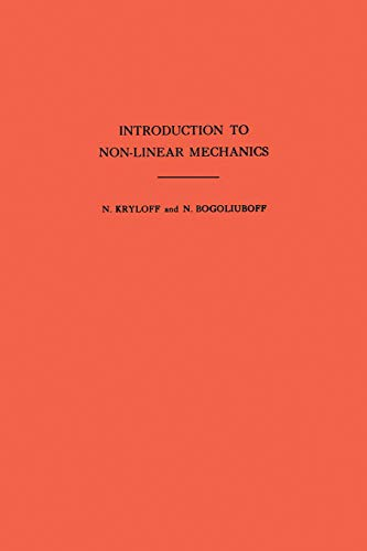 9780691079851: Introduction to Non-Linear Mechanics