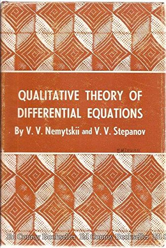 9780691080208: Qualitative Theory of Differential Equations (Princeton Legacy Library)