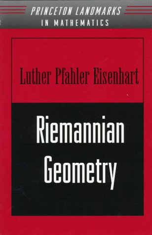 9780691080260: Riemannian Geometry (Princeton Landmarks in Mathematics and Physics)
